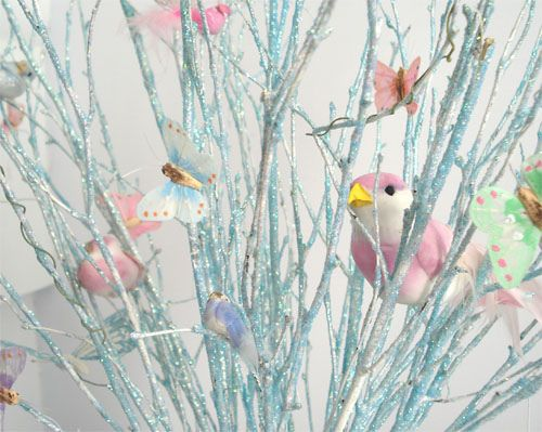 Branches with Birds & Butterflies by such pretty things, via Flickr