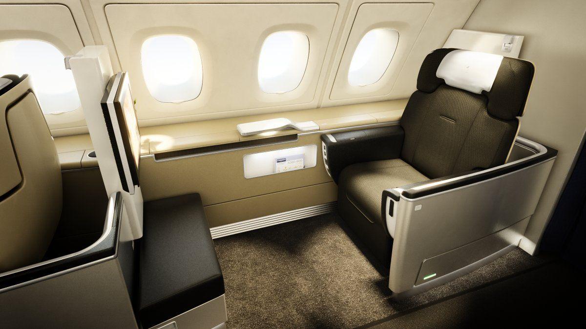 Lufthansa Airbus A380 800 First Class First Class Seats First