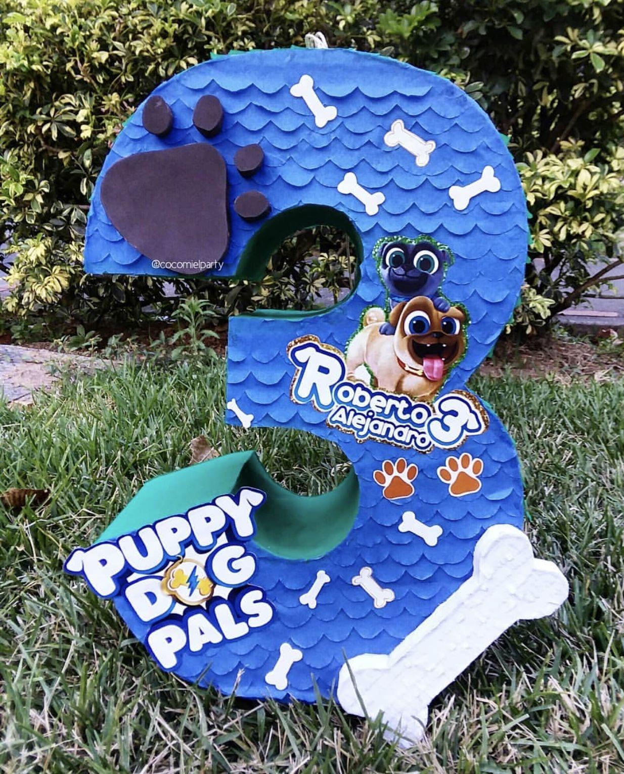 Puppy dog pals Pinata