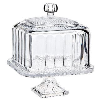 "<strong class=""js-codeception-manufacturer"">Godinger Silver Art Co</strong> Belmont Domed Cake Stand"