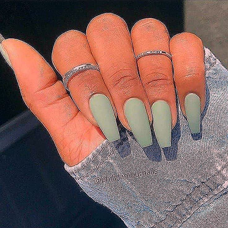 Photo of The latest coffin nails design for fall and winter