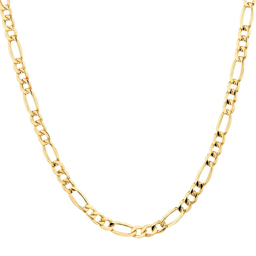 Chains For Men Figaro Chain 18k Gold Figaro Chain Sterling Silver Figaro Chain Wh Stainless Steel Chain Necklace Chain Necklace Womens Crystal Necklace Pendant