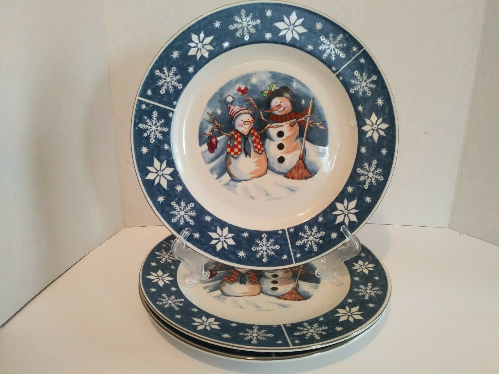 My Ebay Active Plates Snowman Friend Christmas Christmas Gingerbread House