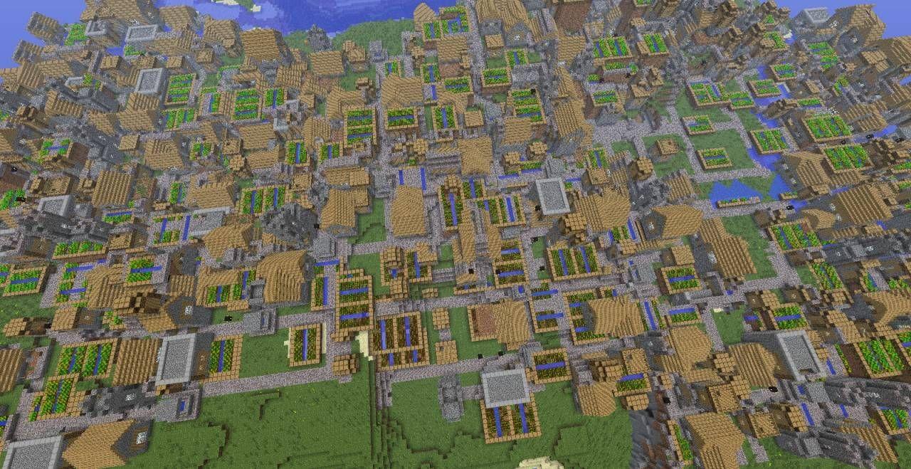 9-minecraft-npc-village-city.jpg 9,9×9 pixels  Minecraft
