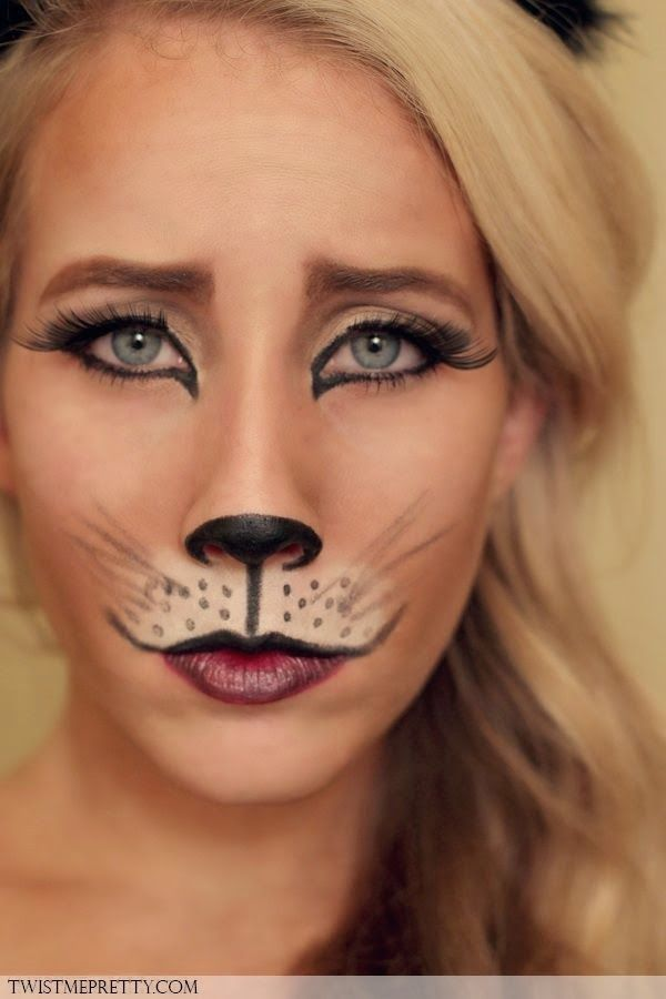 Great Halloween costume Cuteness Pinterest Halloween costumes - cat halloween makeup ideas