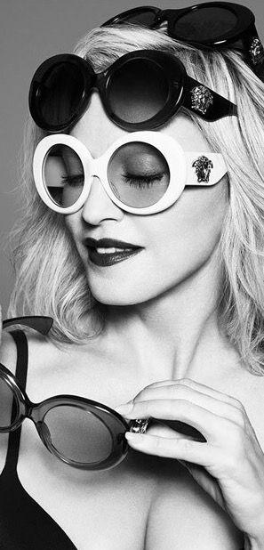 a1dcf13001a Madonna for Versace Eyewear