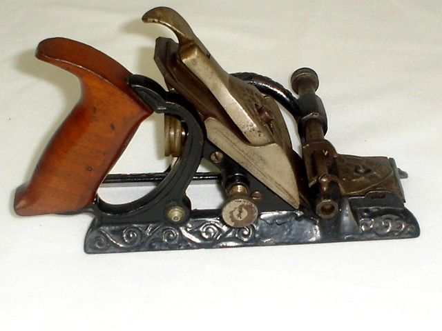 Lee S Patent Stop Chamfer Plane Tools Antique And