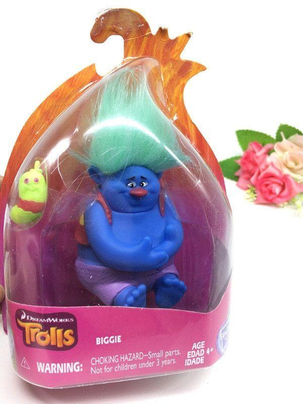 10 styles mini trolls Movie Trolls Action Figure toys Poppy Branch Critter Skitter Figures Trolls toys for Children Kids Gifts