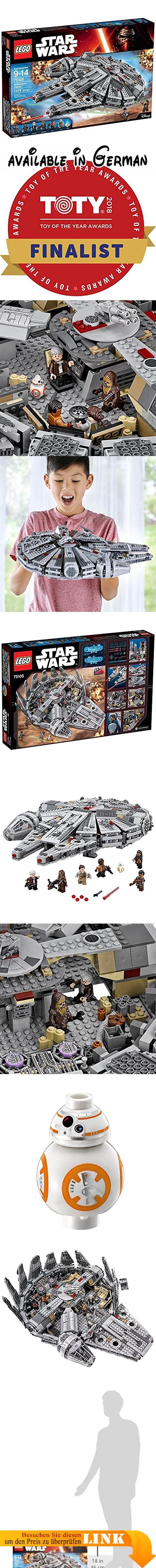 LEGO Star Wars Millennium Falcon 75105 Building Kit by LEGO. LEGO Star Wars Millennium Falcon 75105Building Kit. Medium #Toy #TOYS_AND_GAMES