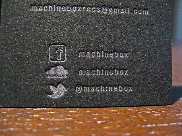 Metallic letterpress business cards by dolcepress via flickr metallic letterpress business cards by dolcepress via flickr reheart Choice Image