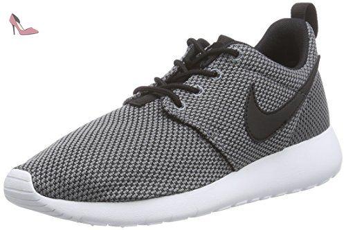 Nike Free 5.0 (GS), Chaussures de Running Garçon - Noir (Black/White/Dark Grey/Cool Grey), 37.5 EU