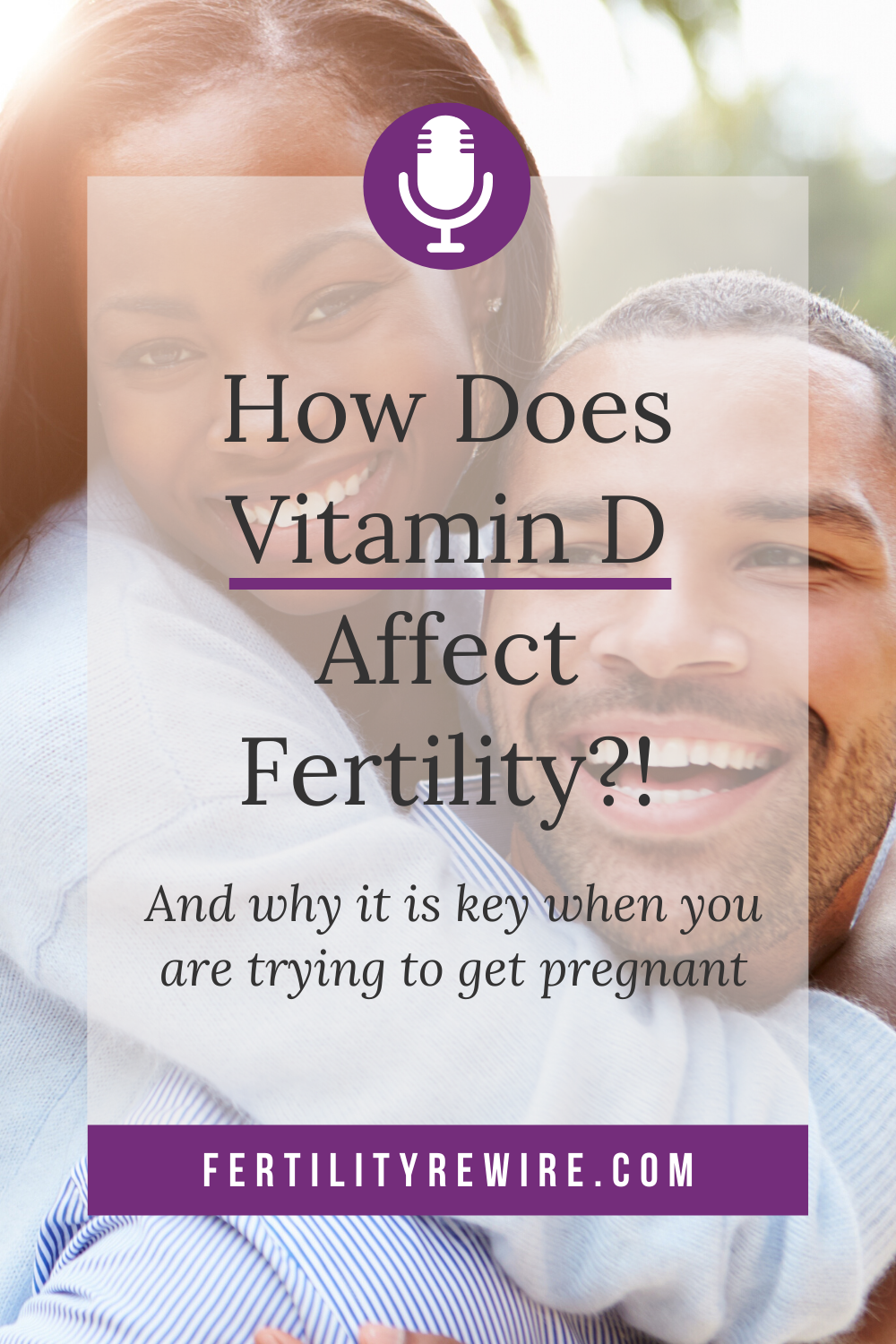 In this Episode I answer the question, How does Vitamin D affect Fertility  and I also discuss why I think it is an absolute minimum t…