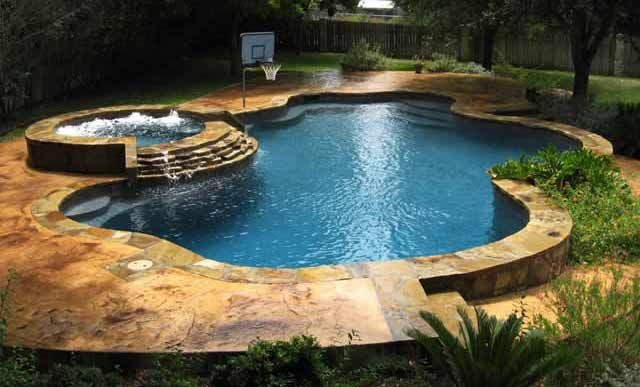 Superior Swimming Pools Free Form Design Photo Gallery
