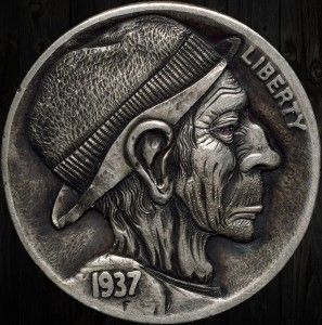 "Hobo Nickel ""Jim The Hobo"" by mrthe"