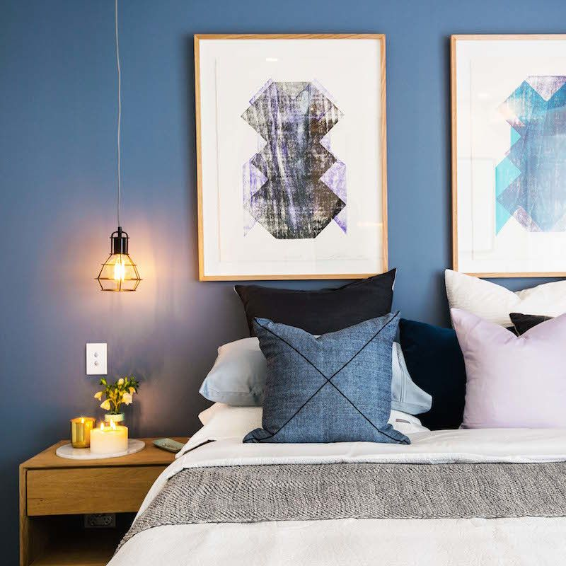 One Bedroom Apartment Layout Ideas Nautical Master Bedroom Decor Luxury Bedroom Lighting Bedroom Ideas Bachelor: The Block Octagon: Guest Bedroom + Ensuite Reveal