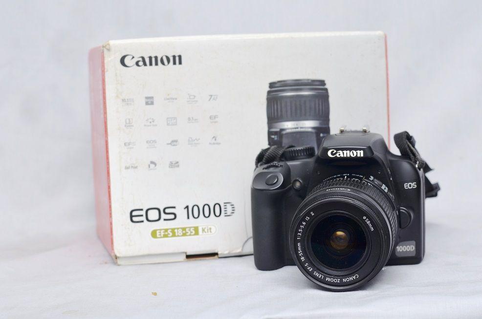 Jual Kamera Dslr Bekas Canon Eos 1000d Fullset Kamera Canon Eos