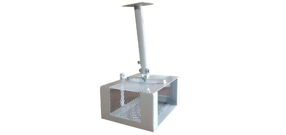 Soporte techo de canastilla para video proyector - Soporte pared proyector ...
