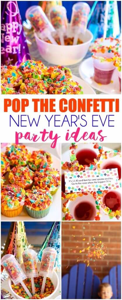 Pop the Confetti New Year's Eve for Kids