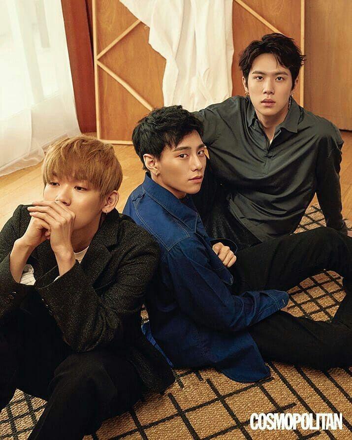 6dbfcd6c560 JBJ para Cosmopolitan  JBJ  JustBeJoyful  Kenta  Sanggyun  Donghan  Yongguk   Taehyun  Hyunbin