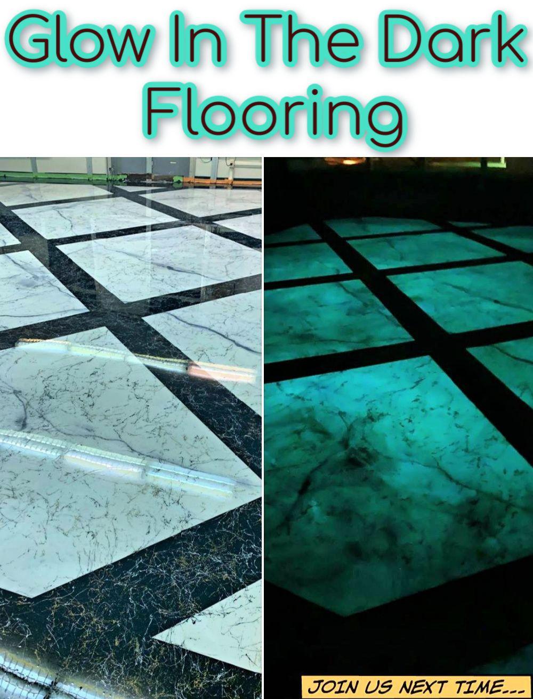 Decorative Concrete Epoxy Supplier Dark Floors Glow In The Dark Flooring