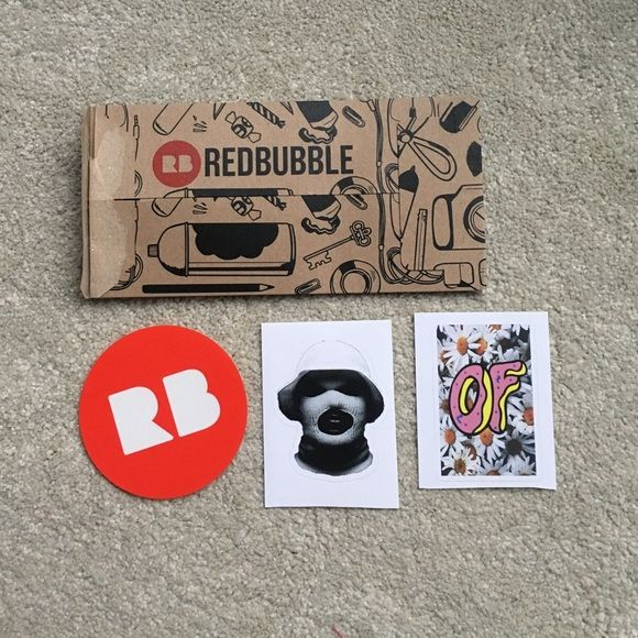 Redbubble stickers redbubble logo sticker schoolboy q oxymoron sticker and odd future daisy sticker