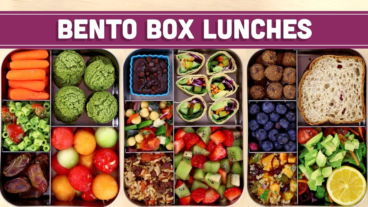 Bento Box Lunches Healthy & Vegan! Mind Over Munch