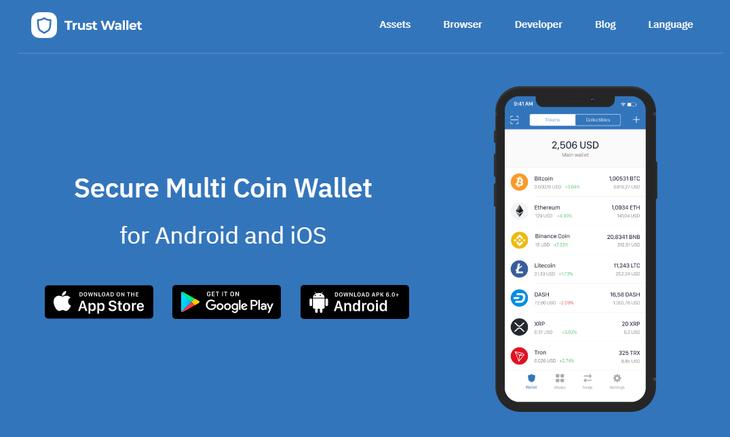 Trust Wallet Wallet Samsung Galaxy Phone Trust
