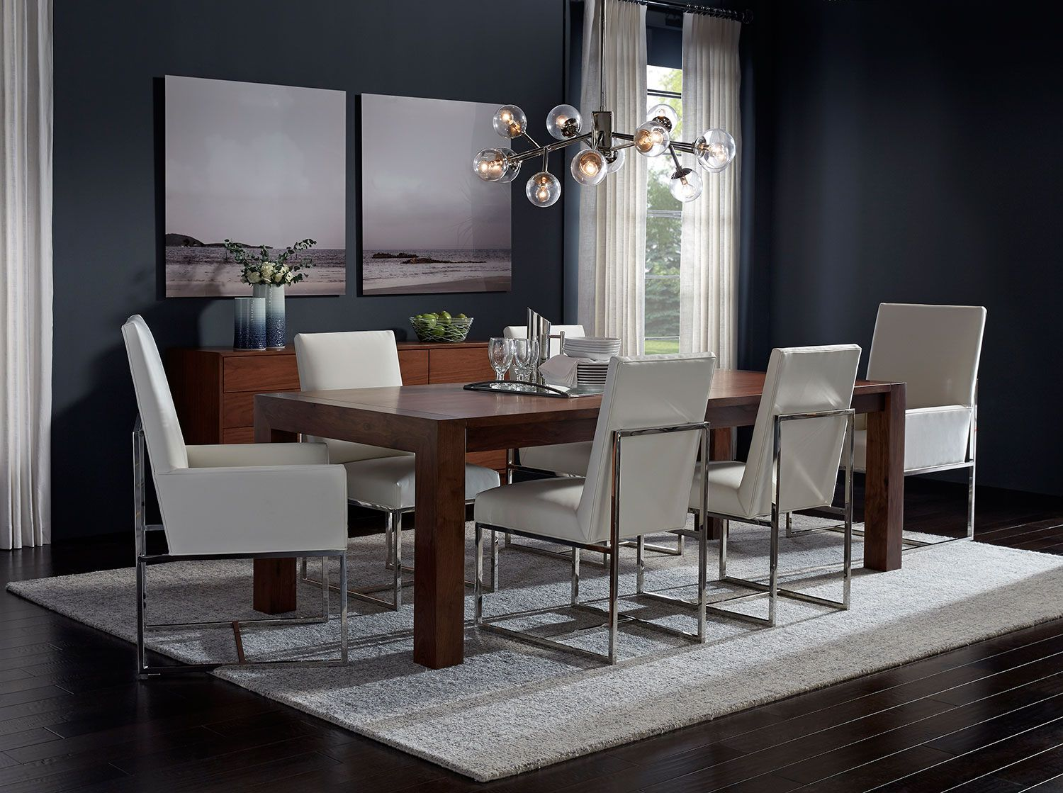 The Halsted Dining Table And Buffet Combine Inviting Natural
