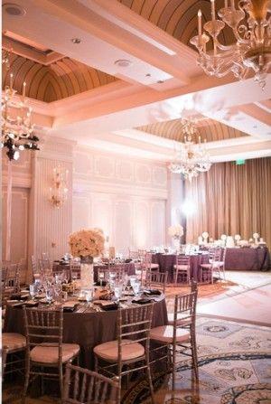 DECOR an indoor sophisticated elegant vintage wedding