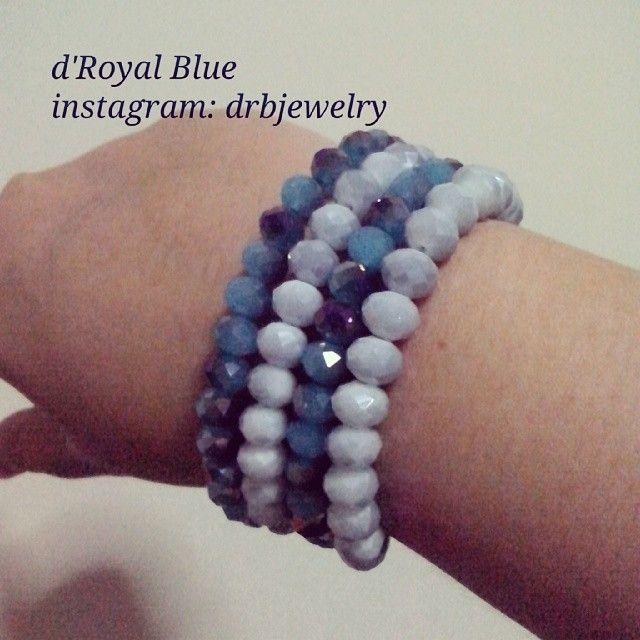 Bisa beli 1 set atau per satuan. #beads Ceko #crystals #gelang #statementbracelet #handmadebracelet