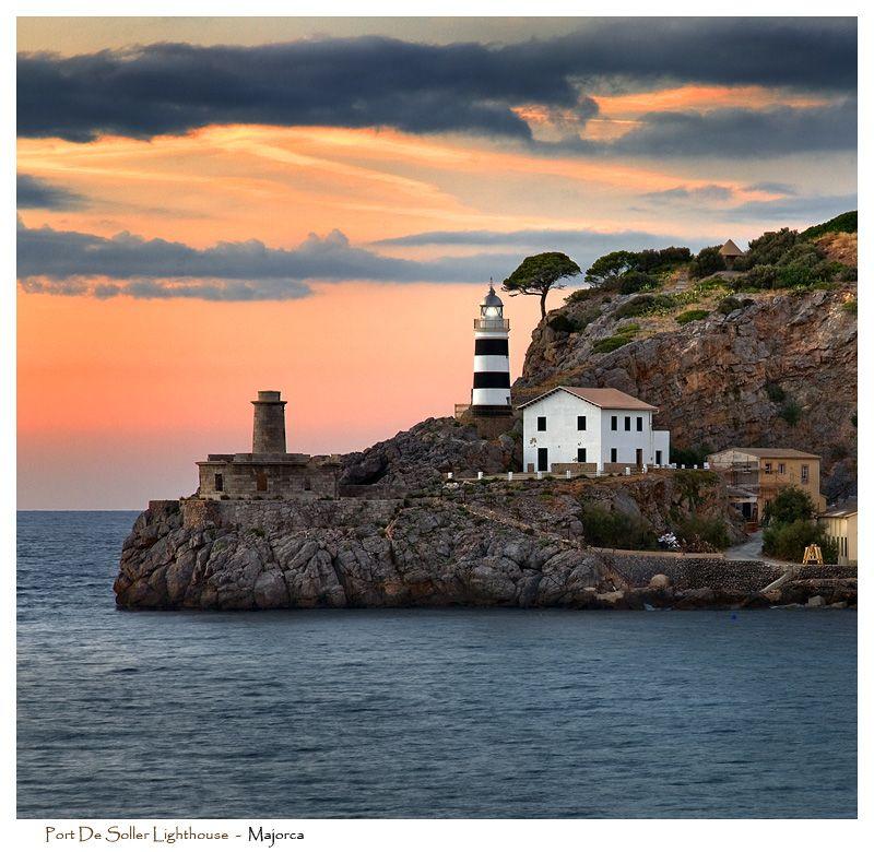 Best Restaurants In Pollensa: Port De Soller Lighthouse By Signal-Womb