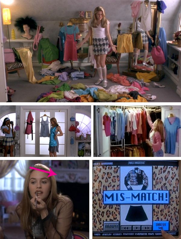 7 Best Bedrooms from TV & Movies {Cher in Clueless} | JUST BECAUSE ...