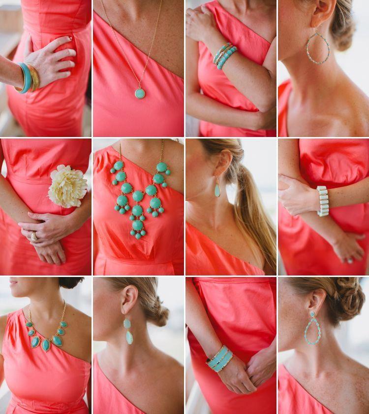 #turquoisecoralweddings