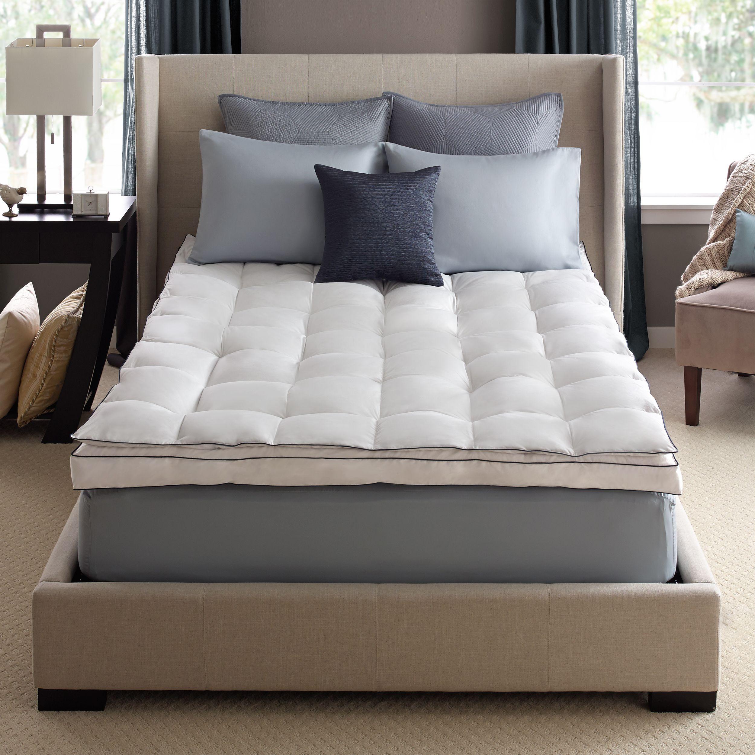 Deluxe Oversized Comforter Twin Mattress topper