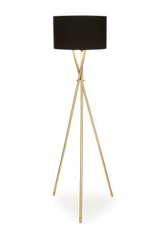 Buy Soft Brass Tripod Floor Lamp from the Next UK online shop ...