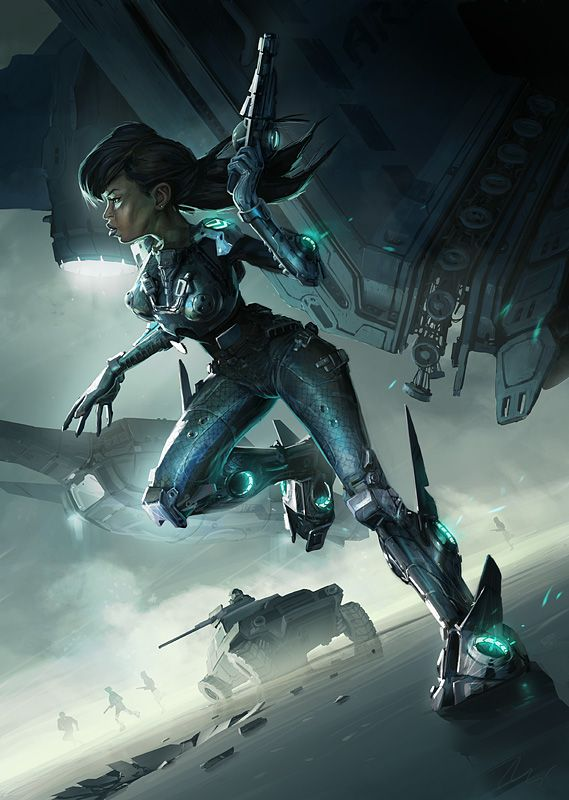 Sci Fi Woman Submitted By: DavidWest