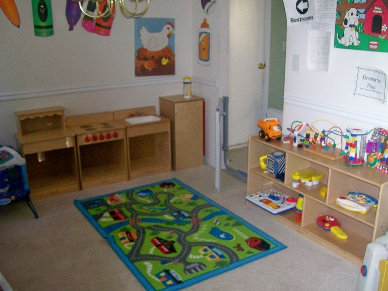 Home daycare classroom designs for home or center based preschools pinterest - Daycare room design ...