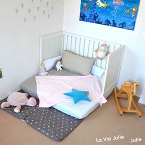 lit au sol montessori pour b b bouquet lit montessori. Black Bedroom Furniture Sets. Home Design Ideas
