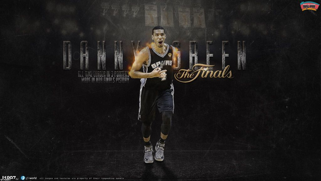 New Wallpaper Of Danny Green Who Will Probably Improve Record He Set Few Days Ago Even Further In Game 7 Of Nba Wallpapers Basketball Wallpaper Green Wallpaper