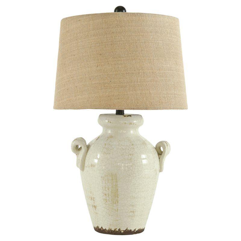 Emil 27 Table Lamp Ceramic Table Lamps Cream Lamps Lamp