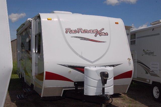 2012 Fun Finder X XT276 Toy Hauler Travel Trailer   Kitsmiller RV