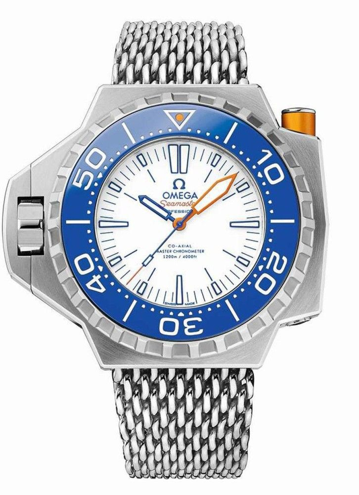 89649aaf96e Omega Seamaster PloProf 1200M Electric Blue - Perpetuelle