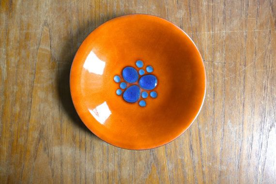 Vintage Annemarie Davidson Enamel on Copper by TracingGraceArts