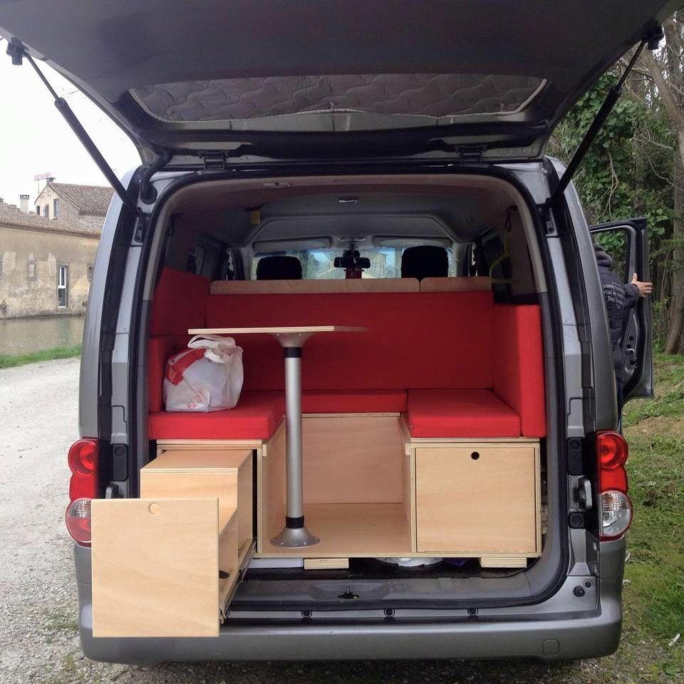trabajos r sticos modulo camper nissan evalia. Black Bedroom Furniture Sets. Home Design Ideas