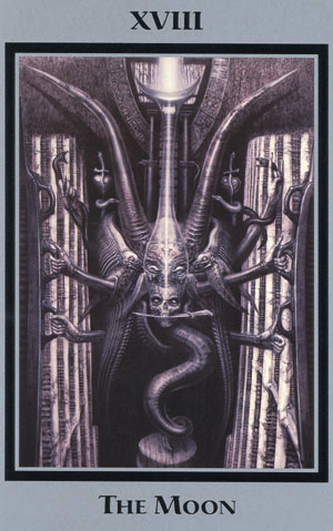 Image result for giger tarot