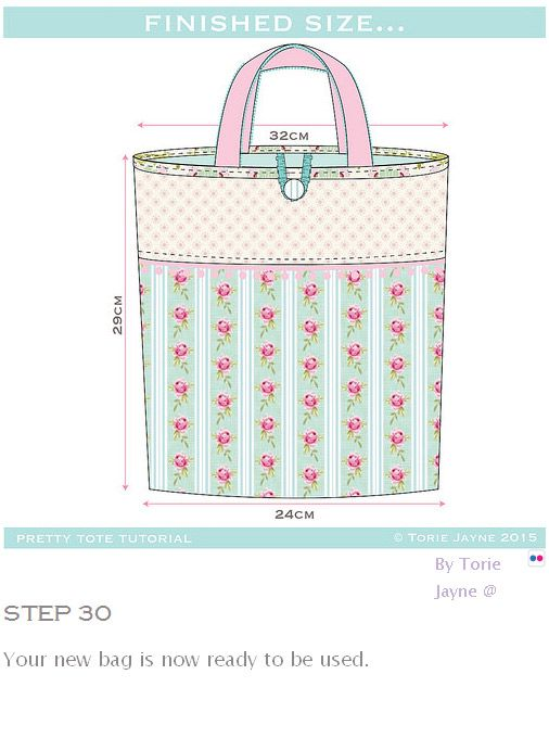 Tote Bag Sewing Tutorial. How-to step by step | Sewing Projects ...