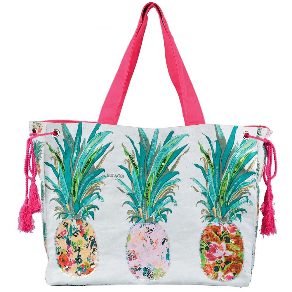Bulaggi Pineapple Beach Bag | Lake Life | Pinterest | Bags, Woman ...