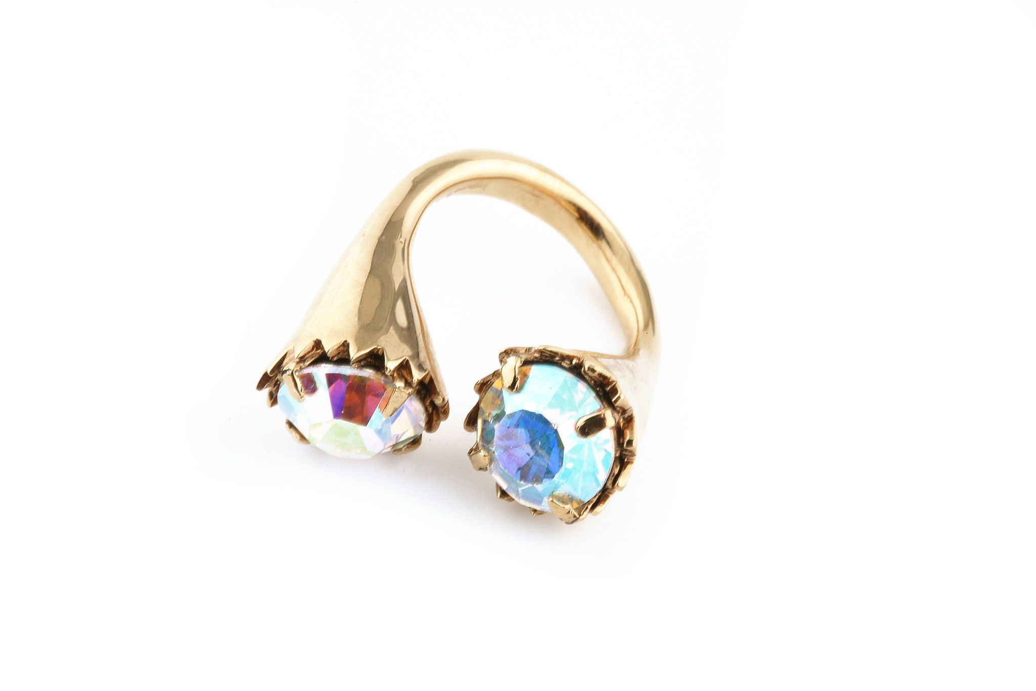 The Northern Lights Collection  Luna Ring
