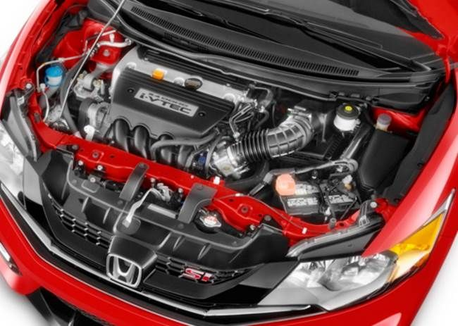 2017 honda civic sedan SI engine
