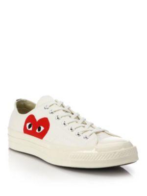 Comme des Gar?ons Peek-A-Boo Canvas Low-Top Sneakers tNpGAp
